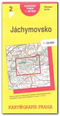 Jachymovsko Turisticka Mapa 1 50 000 Svet Mistopisu