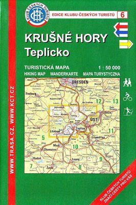 Krusne Hory Teplicko Turisticka Mapa 1 50 000 Svet Mistopisu