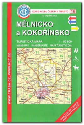 Melnicko A Kokorinsko Turisticka Mapa 1 50 000 Svet Mistopisu